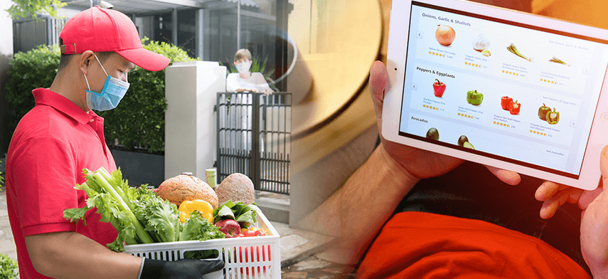 why online grocery businesses need delivery management software