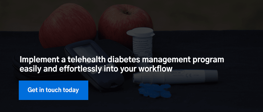 Implement a telehealth diabetes management program easily and effortlessly into your workflow