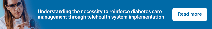 Understanding the necessity to reinforce diabetes care management through telehealth system implementation