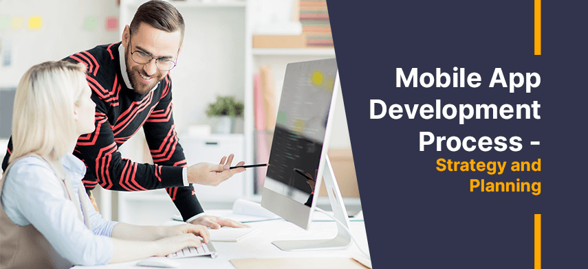 mobile app development process step 2 strategy and planning